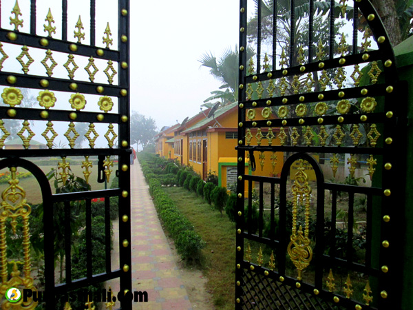 Purbasthali cottage area gate